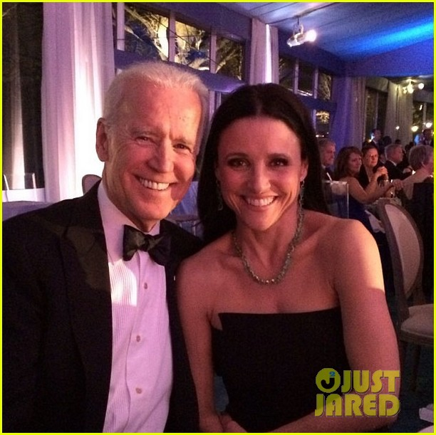 veeps julia louis dreyfus meets the real vp at state dinner 023051816