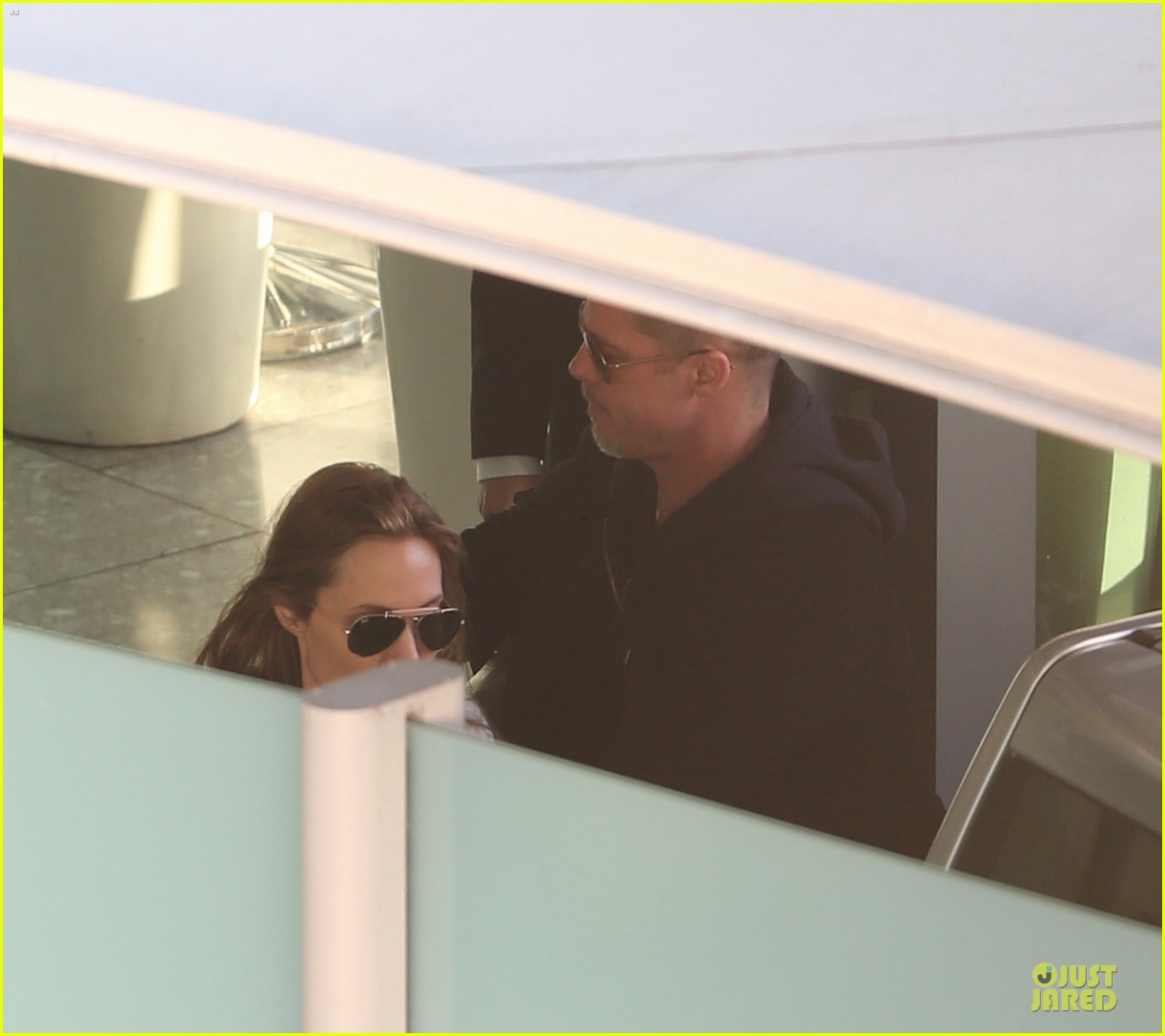 angelina jolie brad pitt post valentines day reunion in london 04