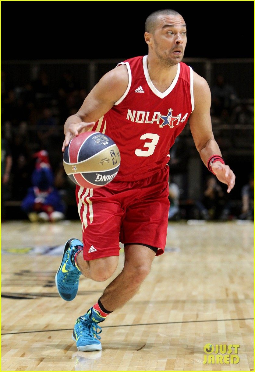 michael b jordan more play in nba all star celebrity game 153054196
