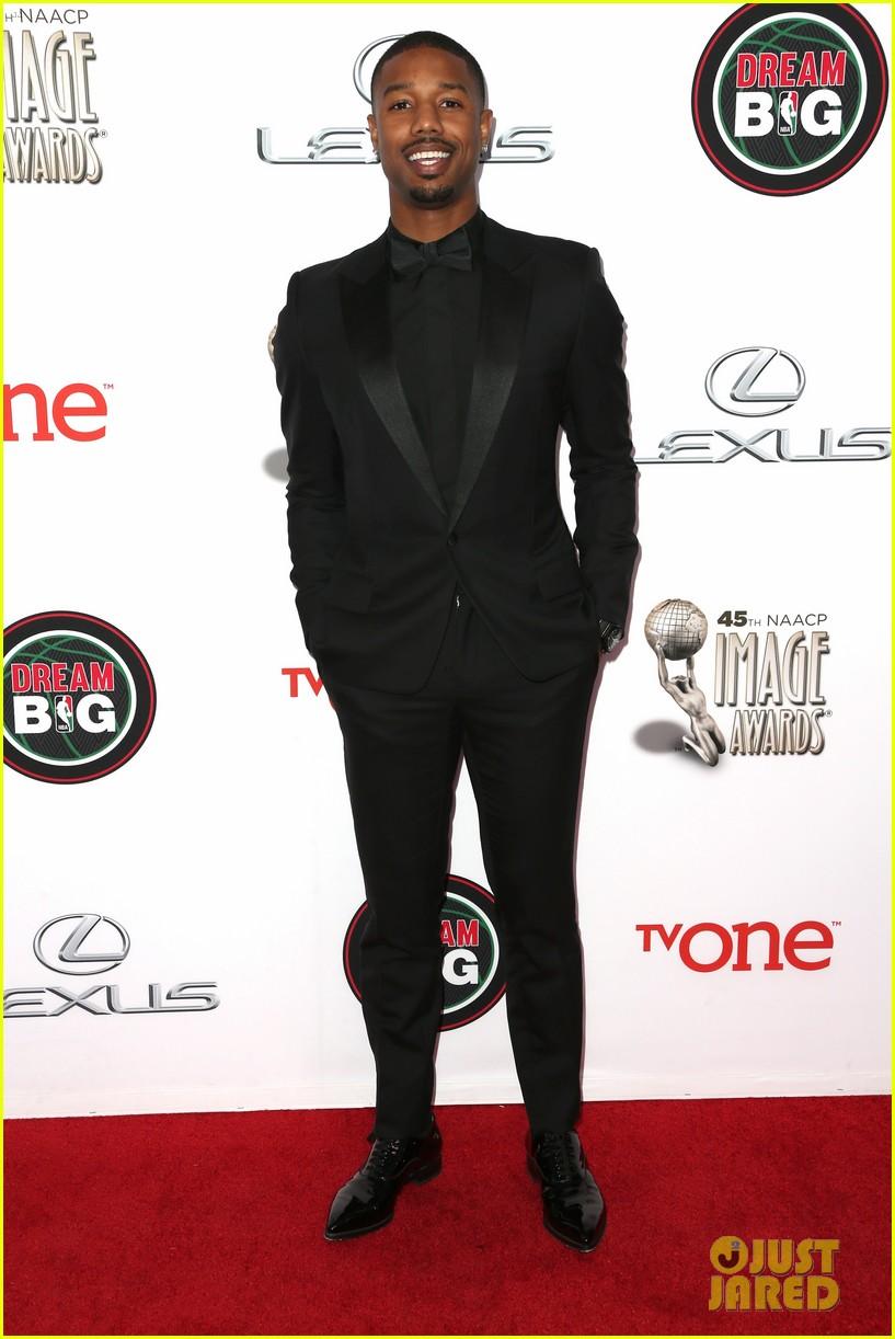 michael b jordan looks fantastic at naacp image awards 2014 03