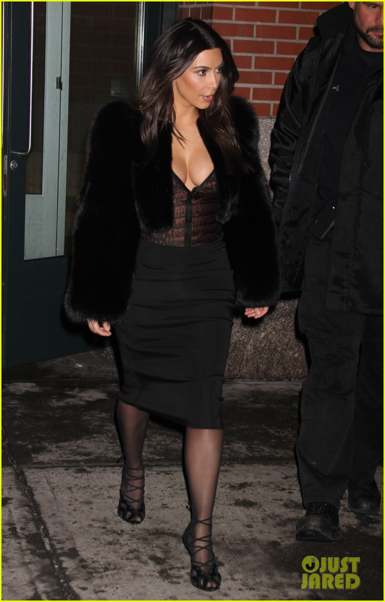 kim kardashian wears low cut top after proposal airs on tv 34
