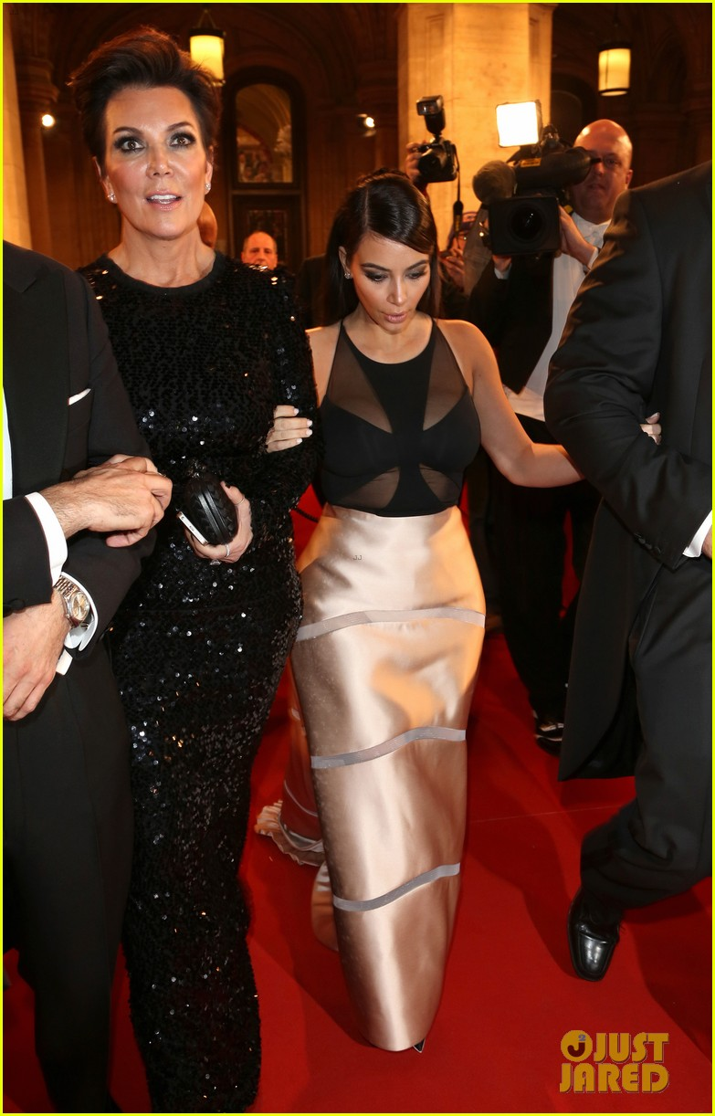 kim kardashian stuns in dress with sheer top at vienna ball 06