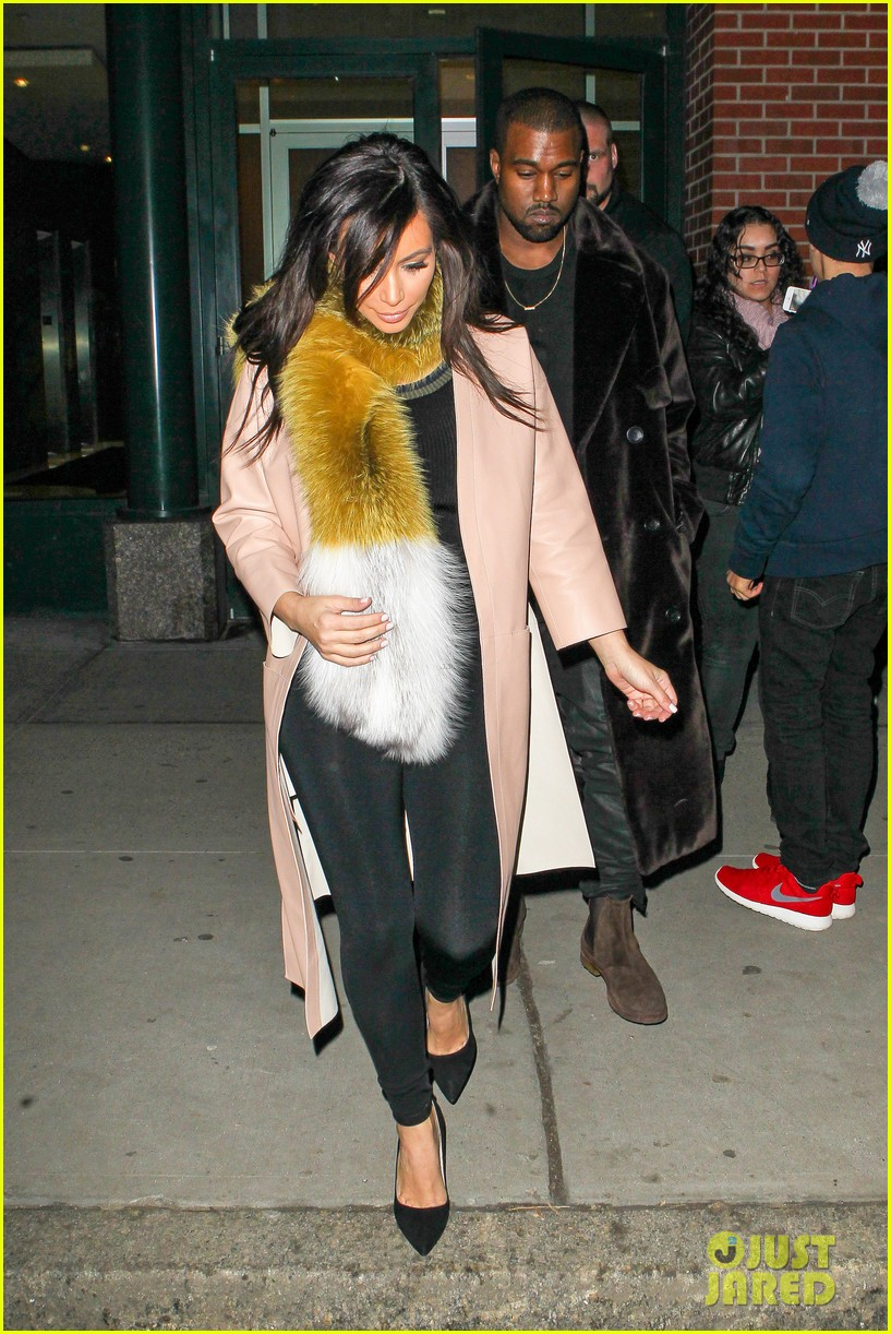kim kardashian kanye west step out before new kuwtk episode 03