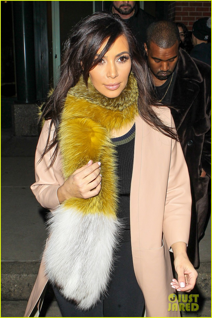 kim kardashian kanye west step out before new kuwtk episode 06