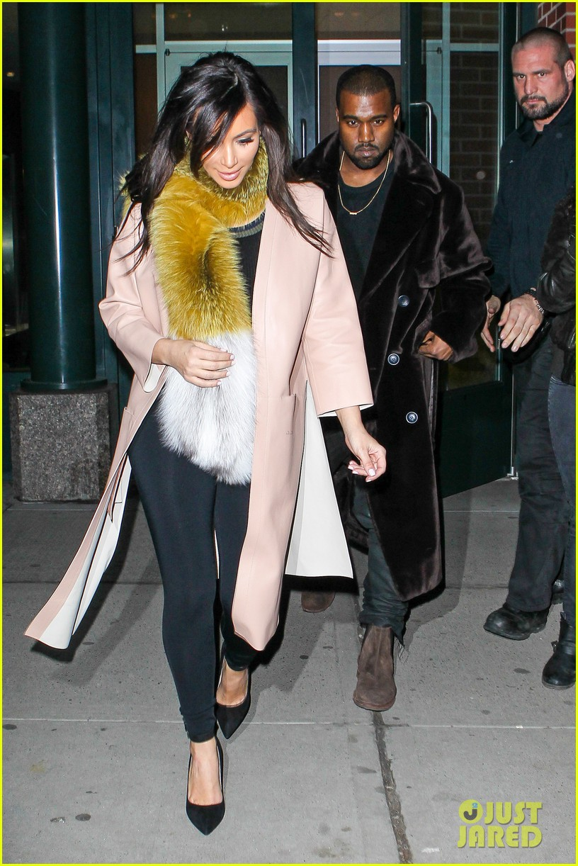 kim kardashian kanye west step out before new kuwtk episode 12