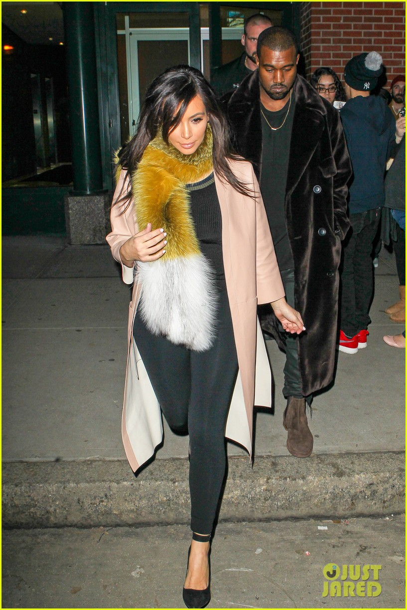 kim kardashian kanye west step out before new kuwtk episode 13