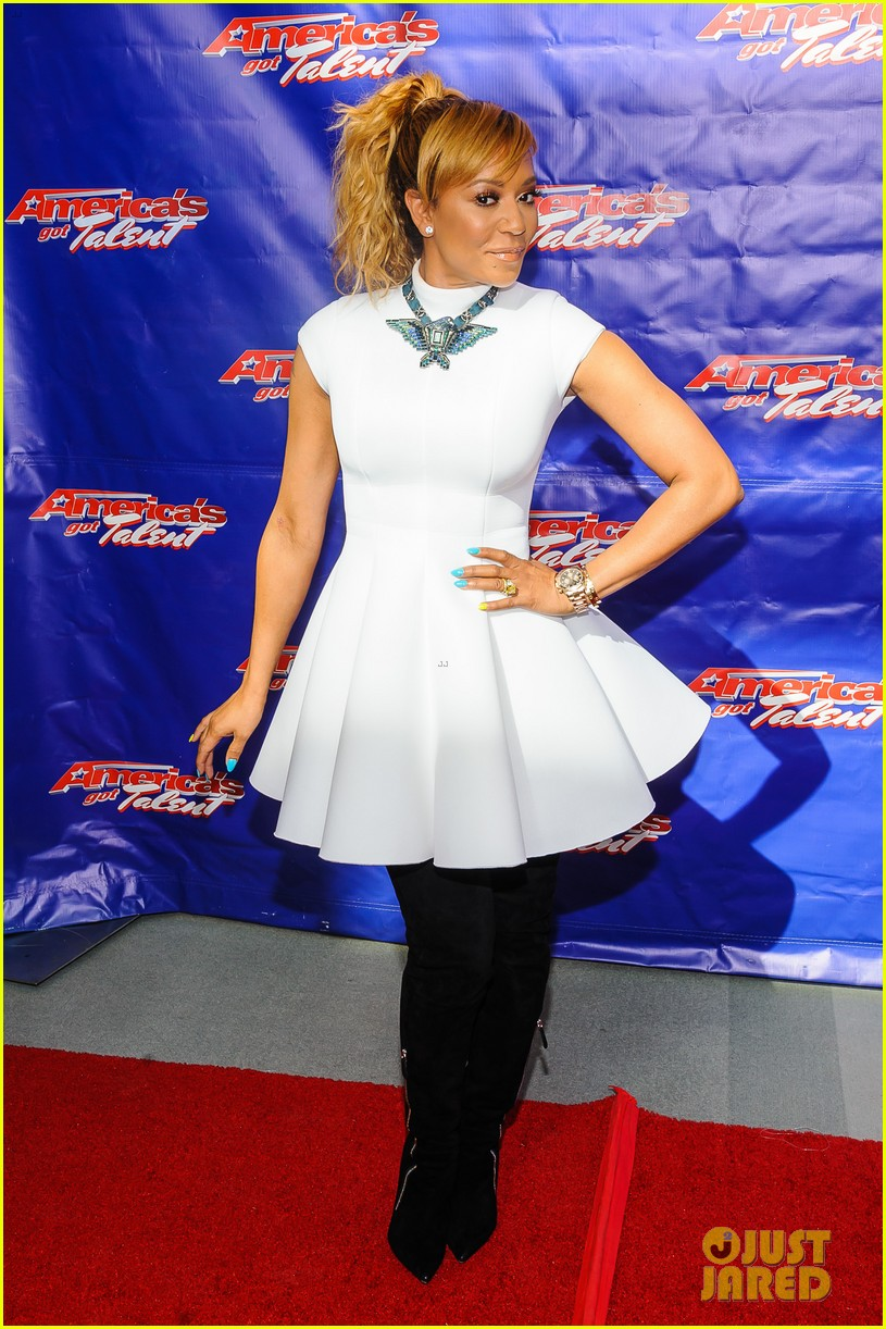 heidi klum mel b americas got talent season 9 photo call 043057445