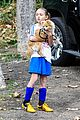 heidi klum soccer mom at leni johan saturday game 03