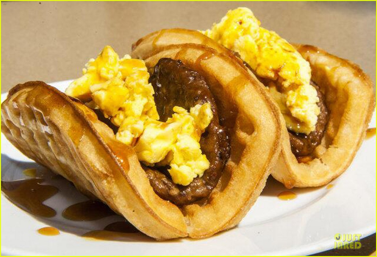 ashton kutcher are you sold on the waffle taco 05