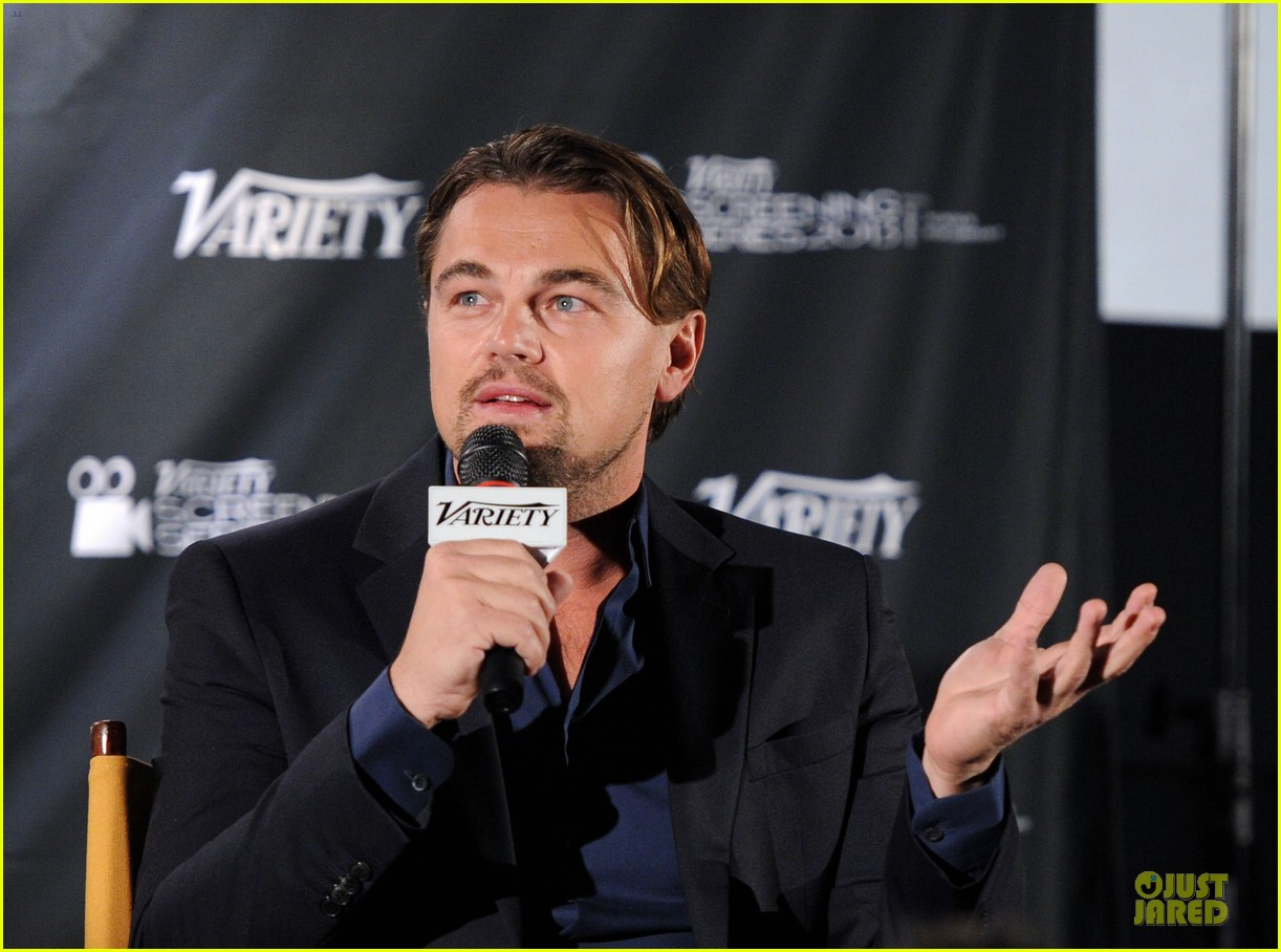 leonardo dicaprio promotes wolf of wall street at variety screening 04