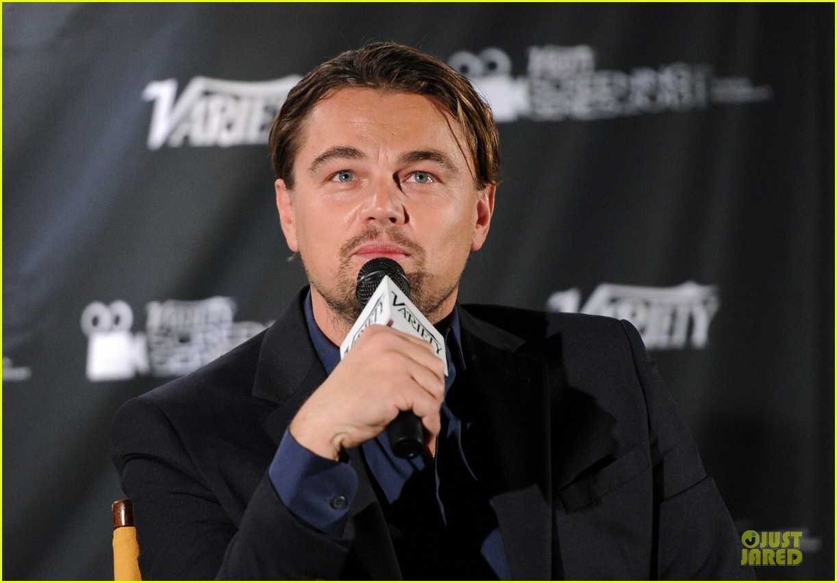 leonardo dicaprio promotes wolf of wall street at variety screening 07