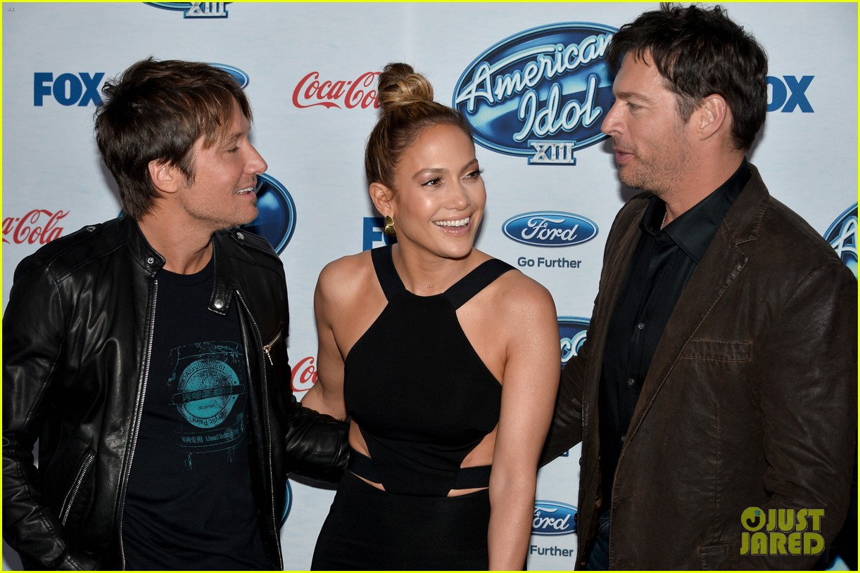 jennifer lopez american idol top 13 celebration 10