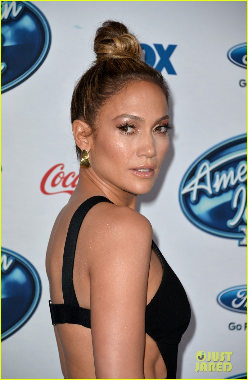 jennifer lopez american idol top 13 celebration 123057589