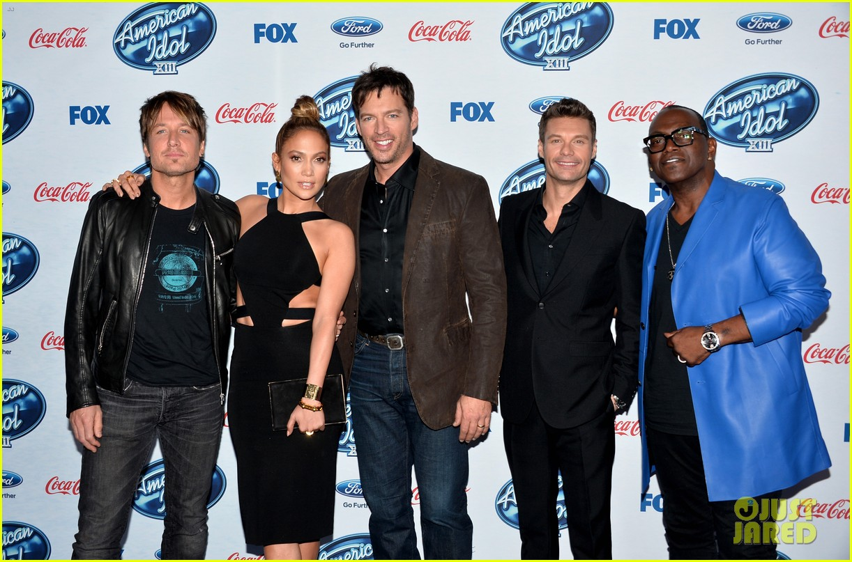 jennifer lopez american idol top 13 celebration 14