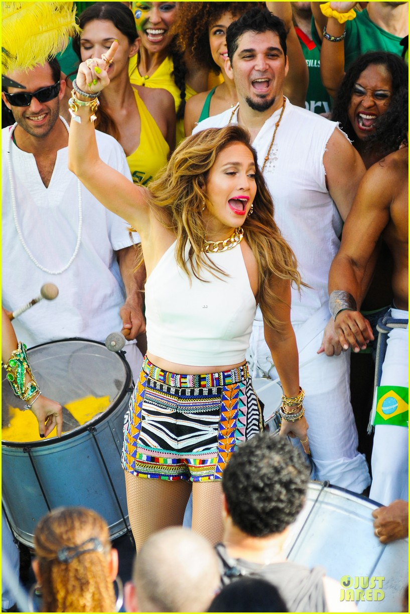 jennifer lopez shoots vibrant world cup music video 053051548