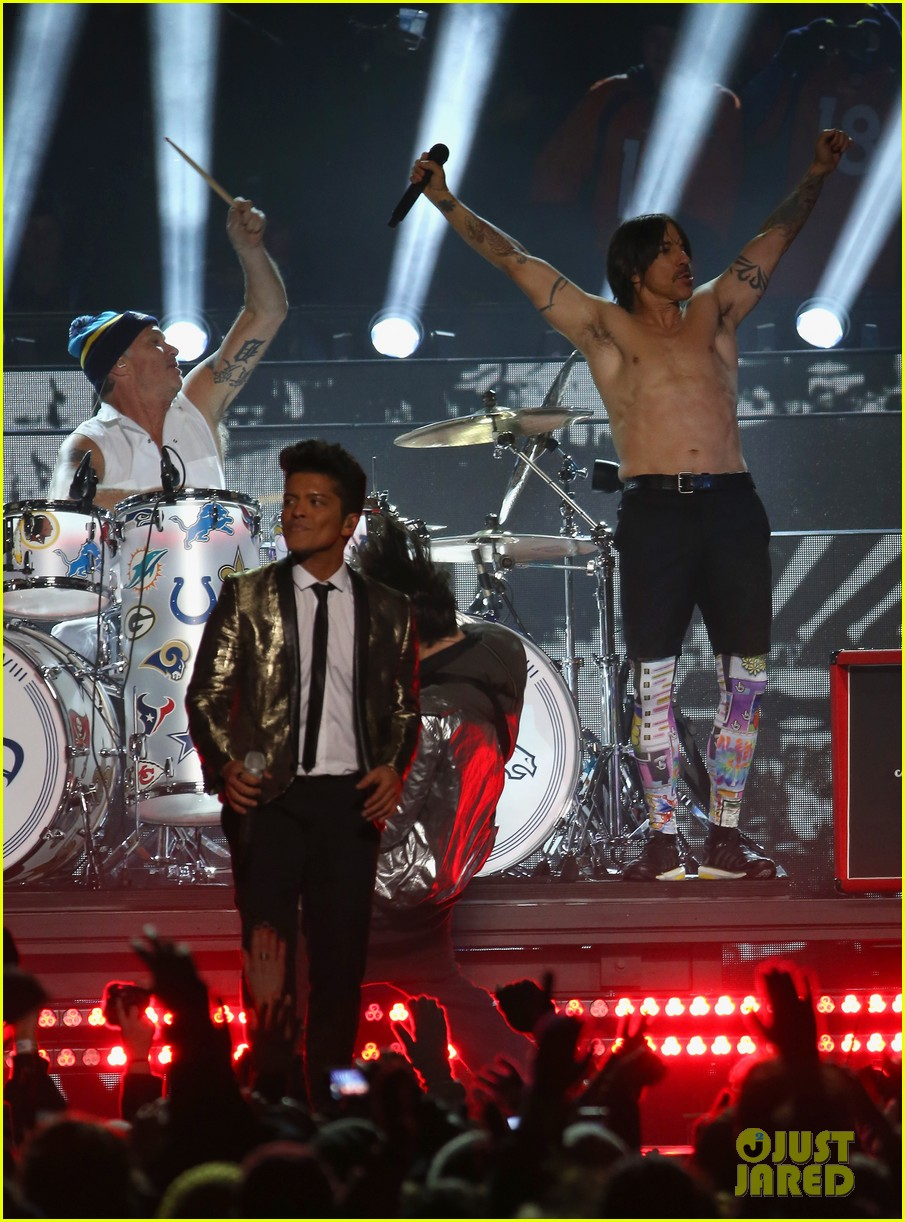 bruno mars super bowl halftime show 2014 video watch now 10
