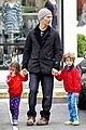 matthew mcconaughey lego movie showing with the kids 01