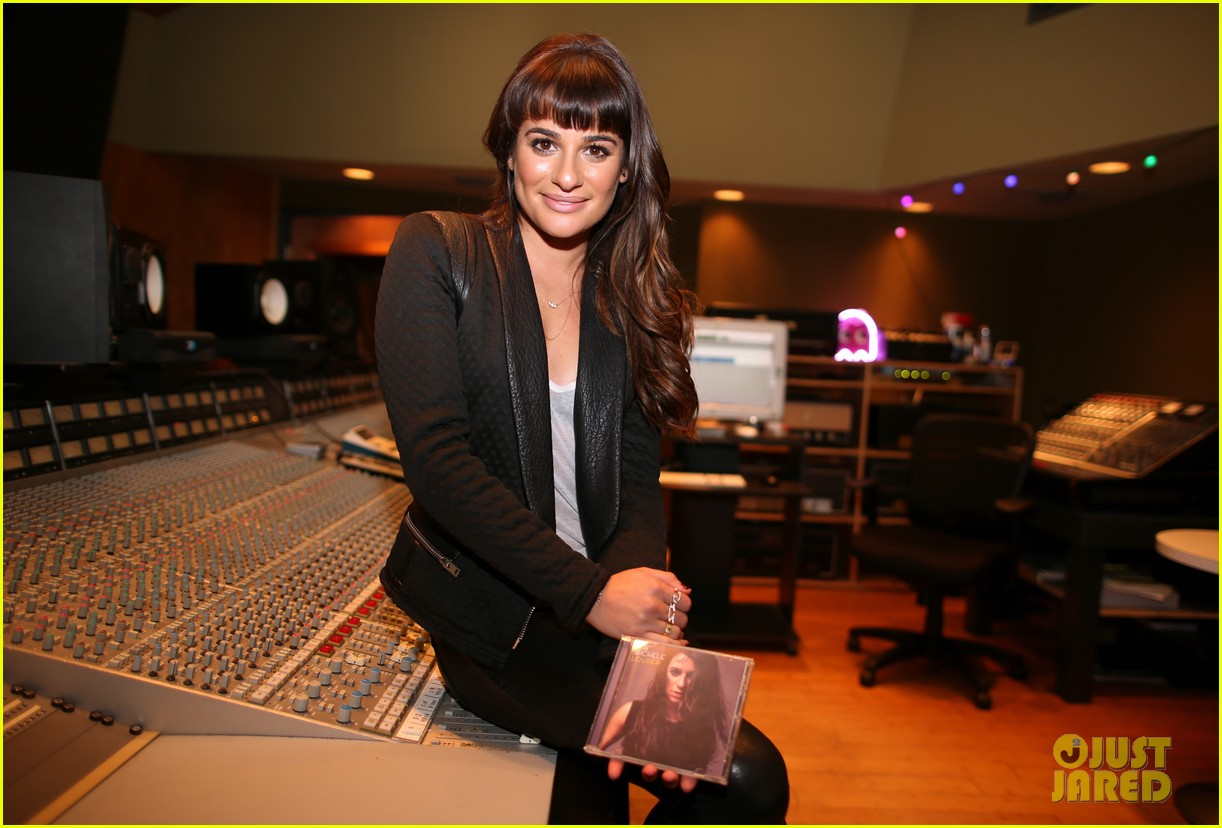 lea michele previews louder at album listening party 023061716