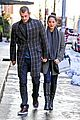 olivia munn joel kinnaman hold hands on wet valentines day 03