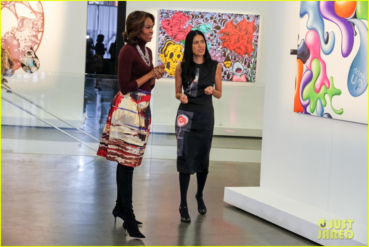 michelle obama ew sketch with jimmy fallon will ferrell 13