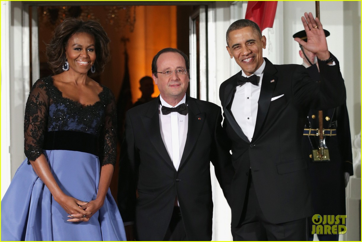 barack michelle obama white house state dinner 08