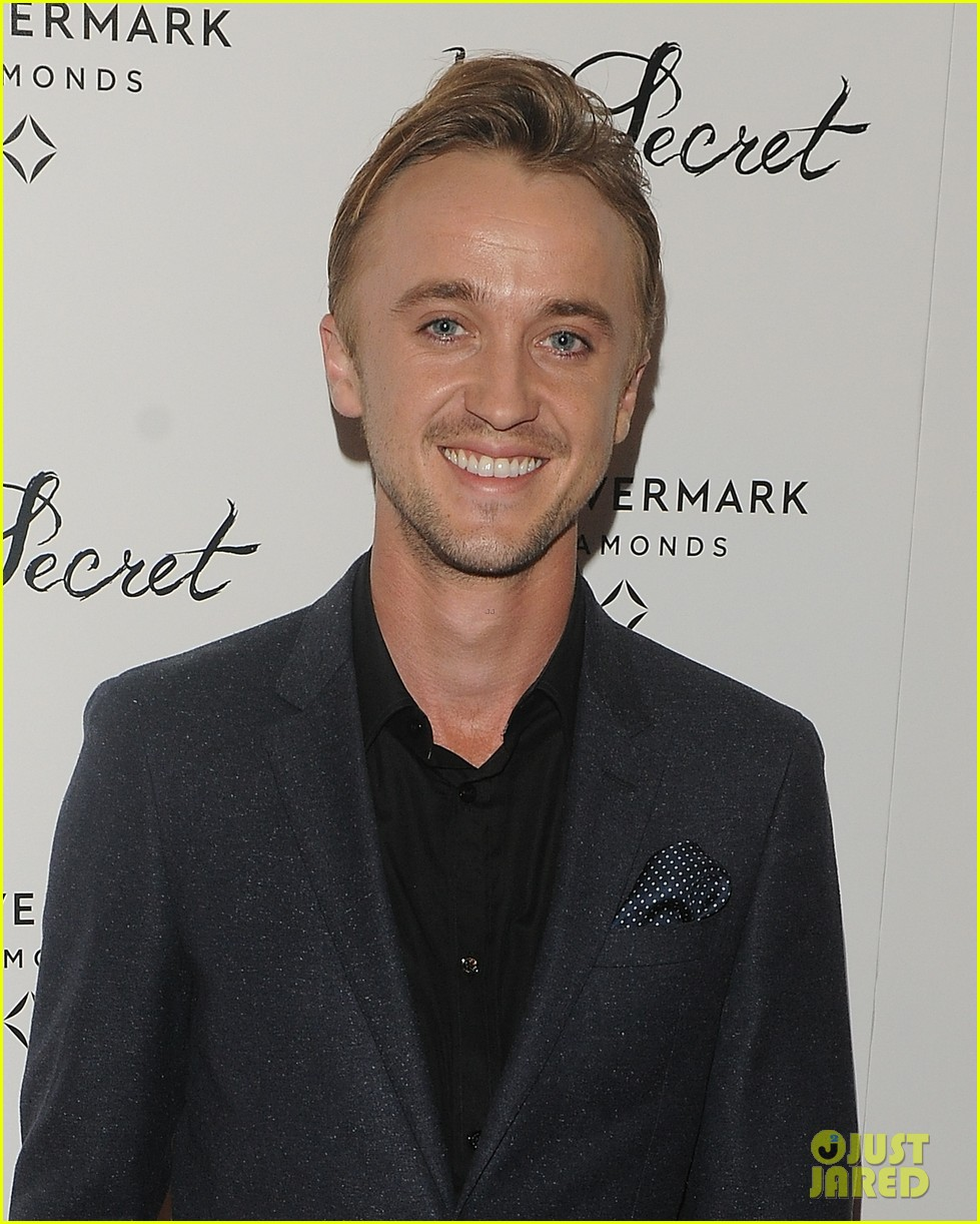 elizabeth olsen tom felton date night at in secret premiere 023048959