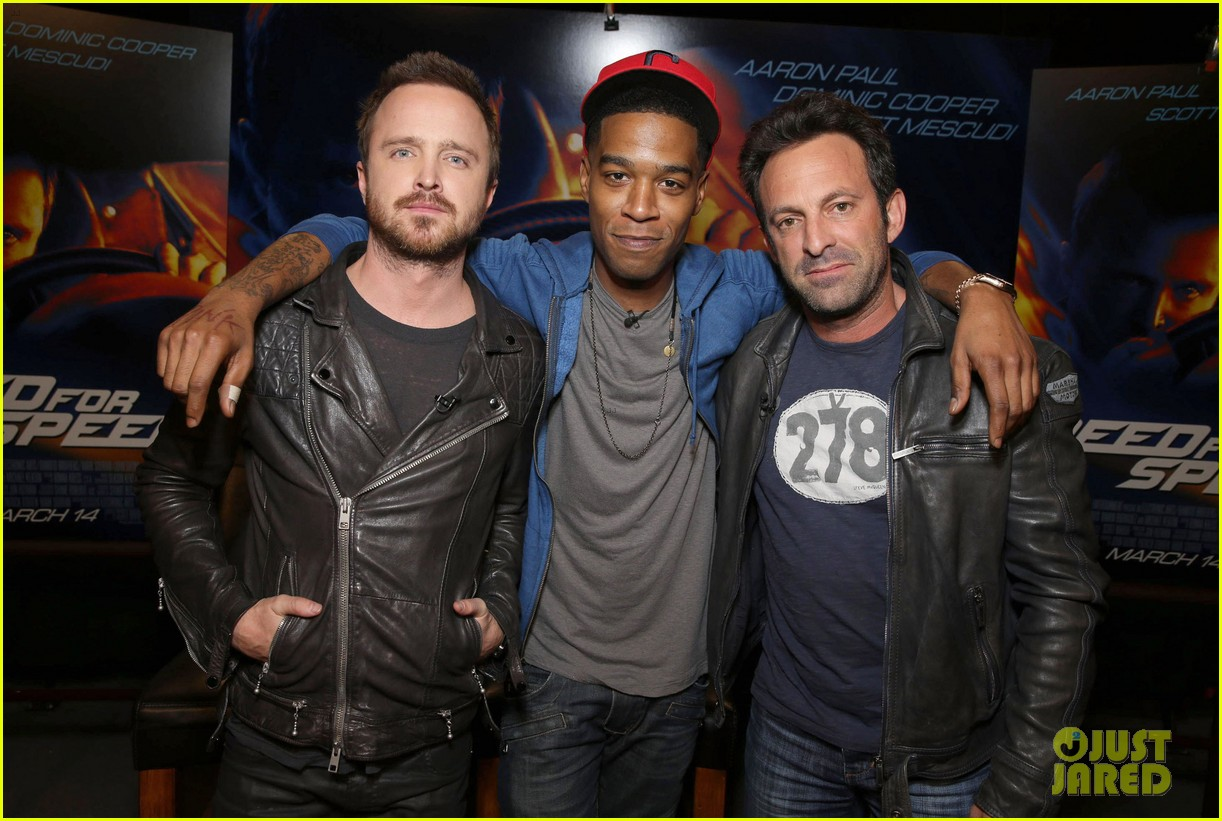 aaron paul kid cudi need for speed advance screening 01