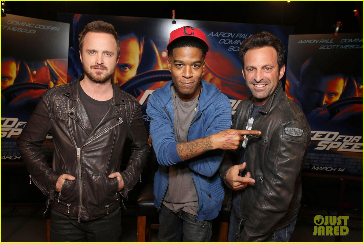 aaron paul kid cudi need for speed advance screening 023057086