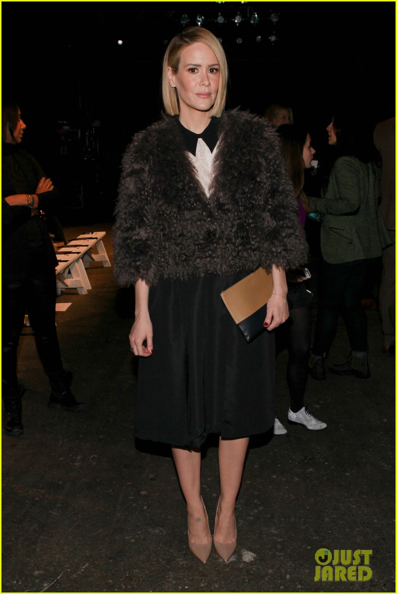 sarah paulson solange knowles honor fashion show 063051366