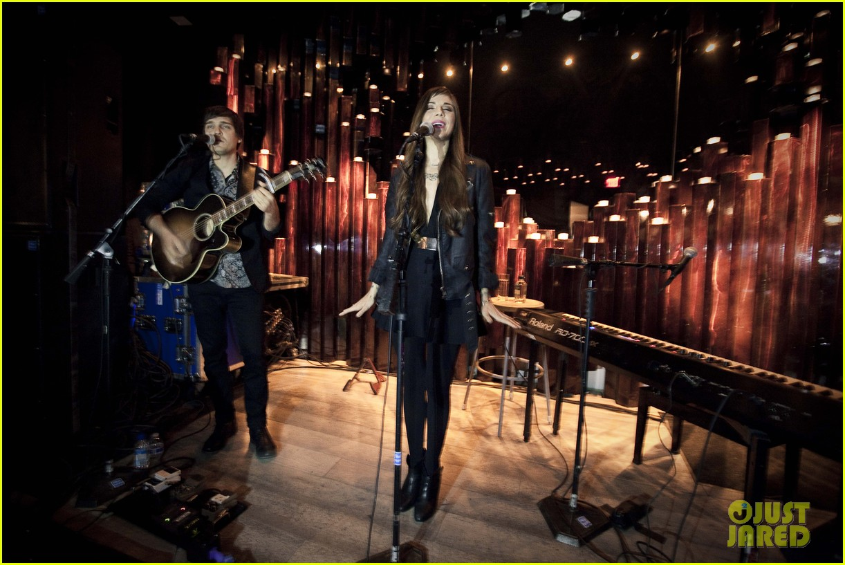 christina perri previews new album at nyc listening party 01
