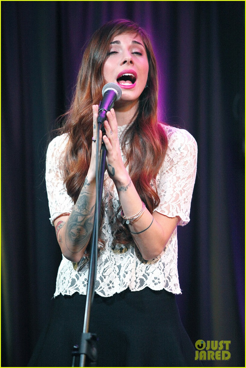christina perri previews new album at nyc listening party 09