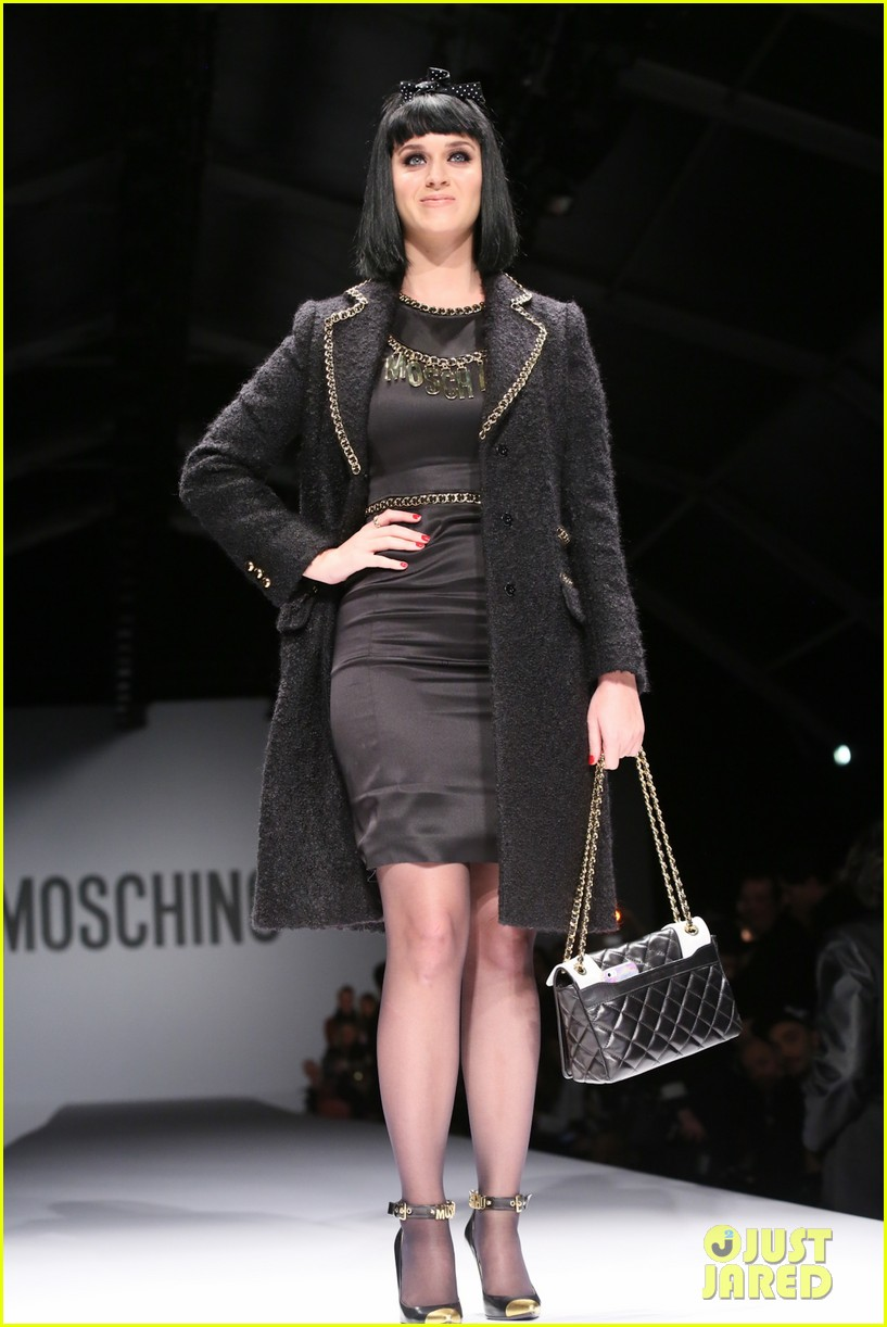 katy perry rita ora walk runway in moschino fashion show 013057382
