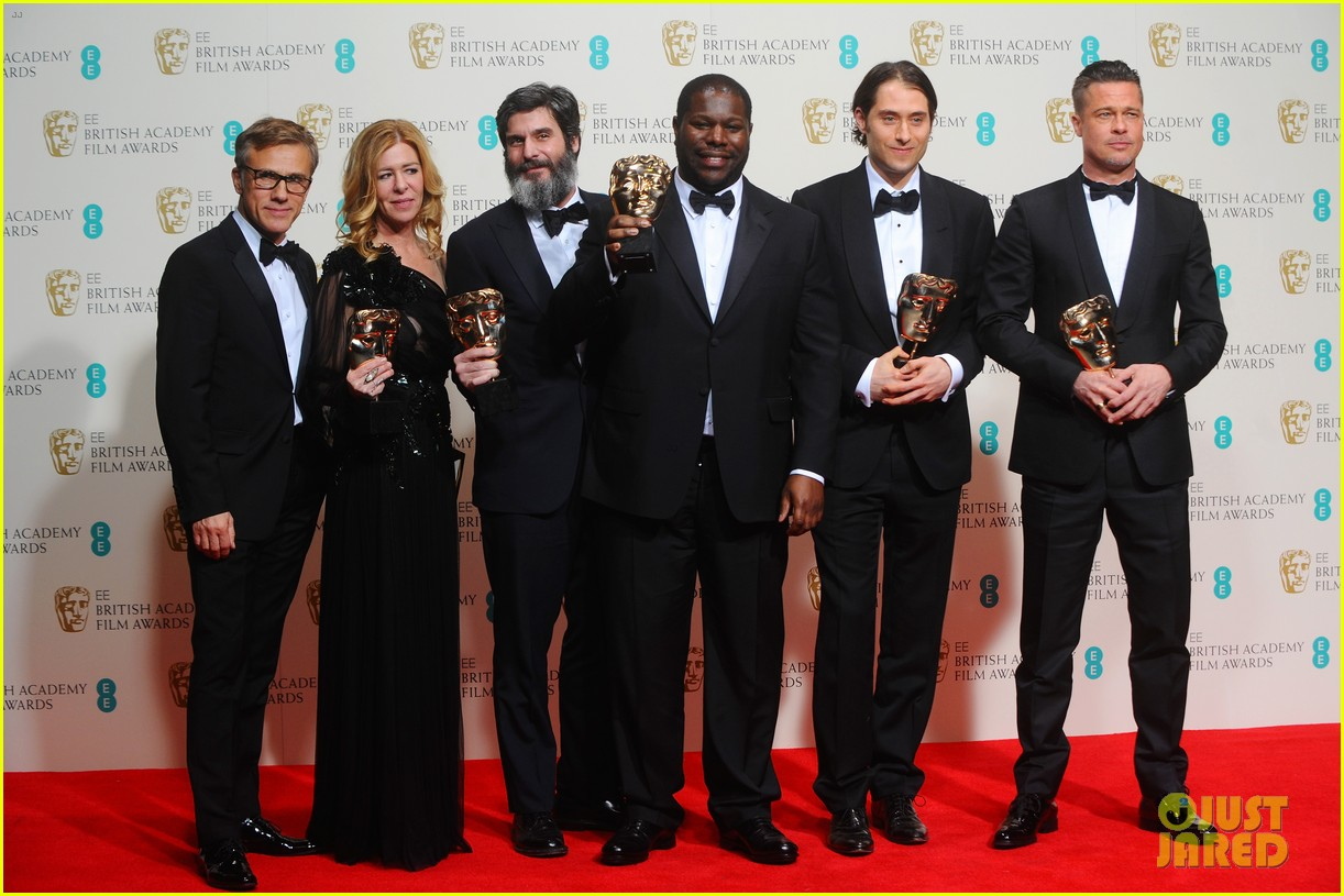 brad pitt wins best film at baftas 2014 watch video here 033054697