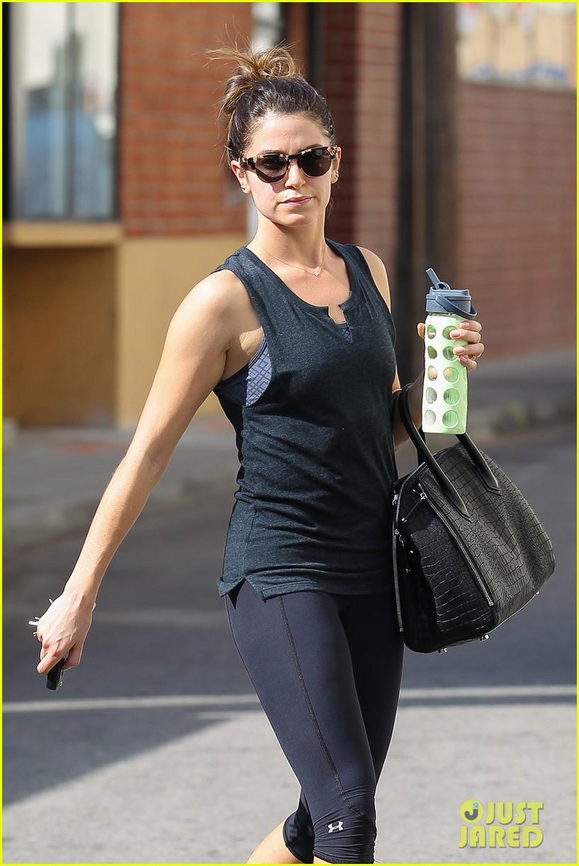nikki reed keeps in shape with daily workout 10