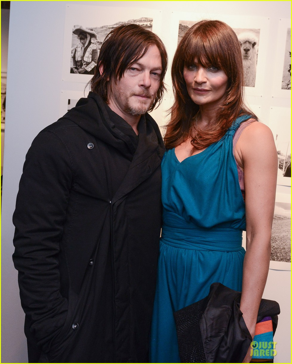 norman reedus liv tyler helena christensen photo exhibition 023045141