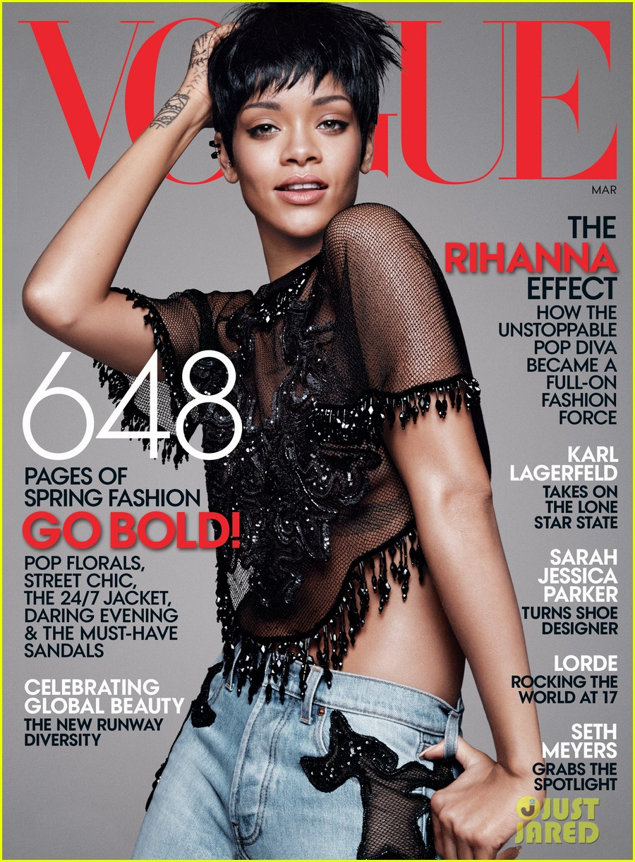 rihanna covers vogue march 2014 third cover with the mag 01