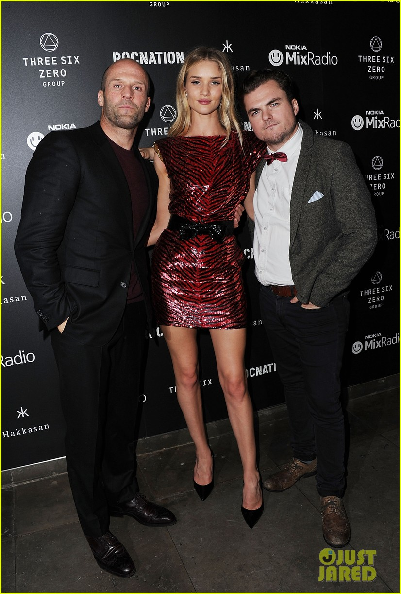 jason statham joins rosie huntington whiteley at brits party 01