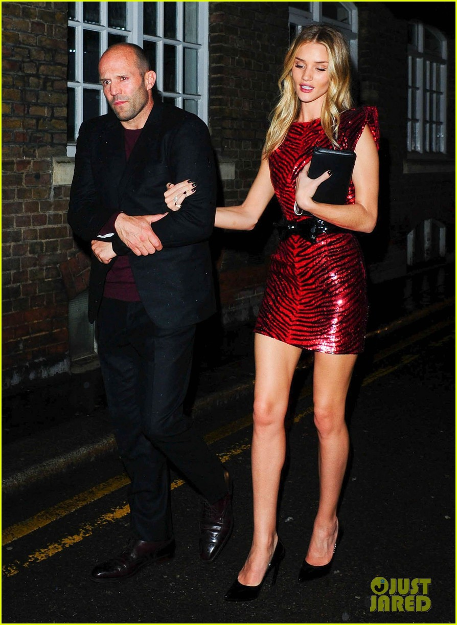 jason statham joins rosie huntington whiteley at brits party 053056853