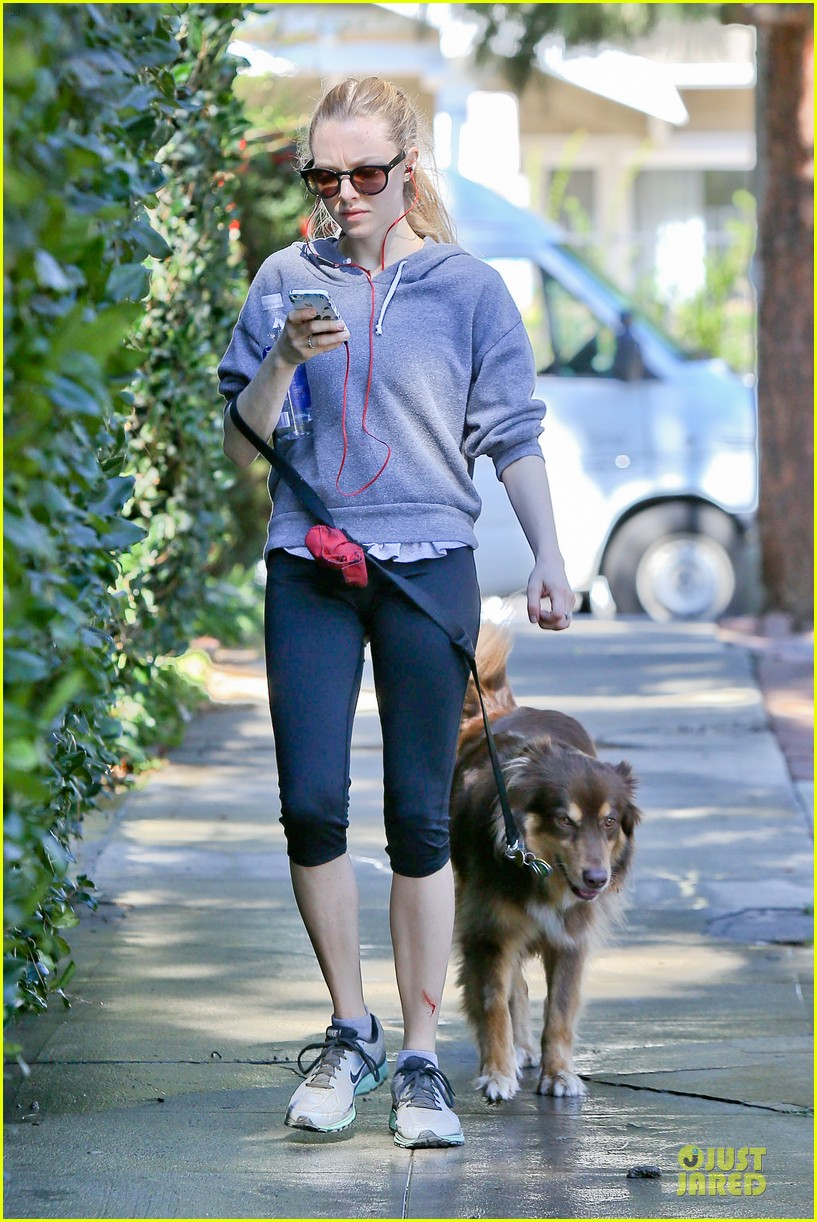 amanda seyfried finn likes to scope out talent at the beach 113047042