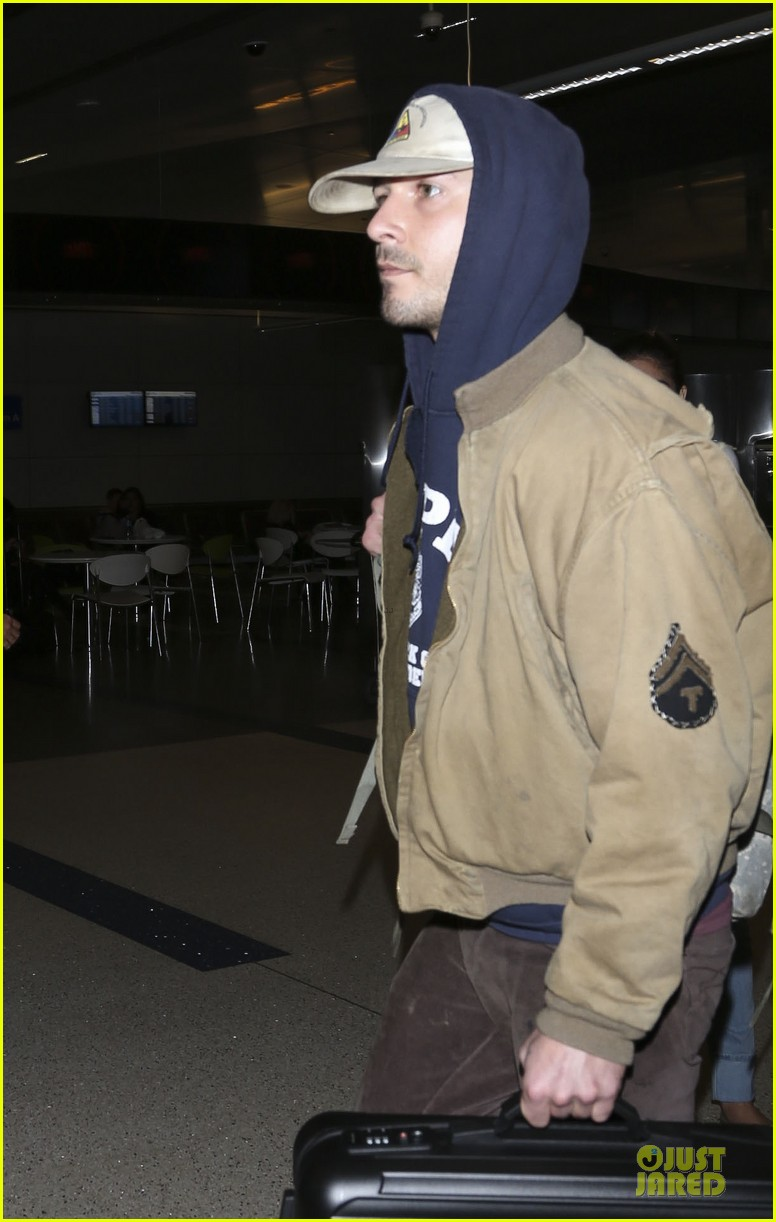 shia labeouf shows his face after paper bag berlin premiere 163050937