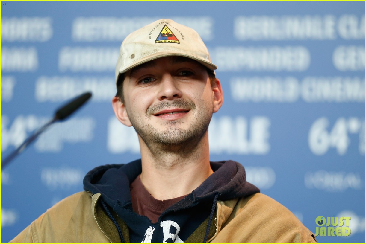 shia labeouf storms out of nymphomaniac press conference after answering one question video 083050165