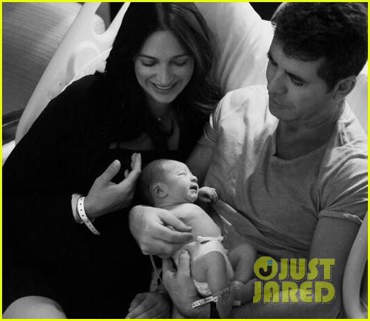 simon cowell shares cute photos of newborn baby eric 01