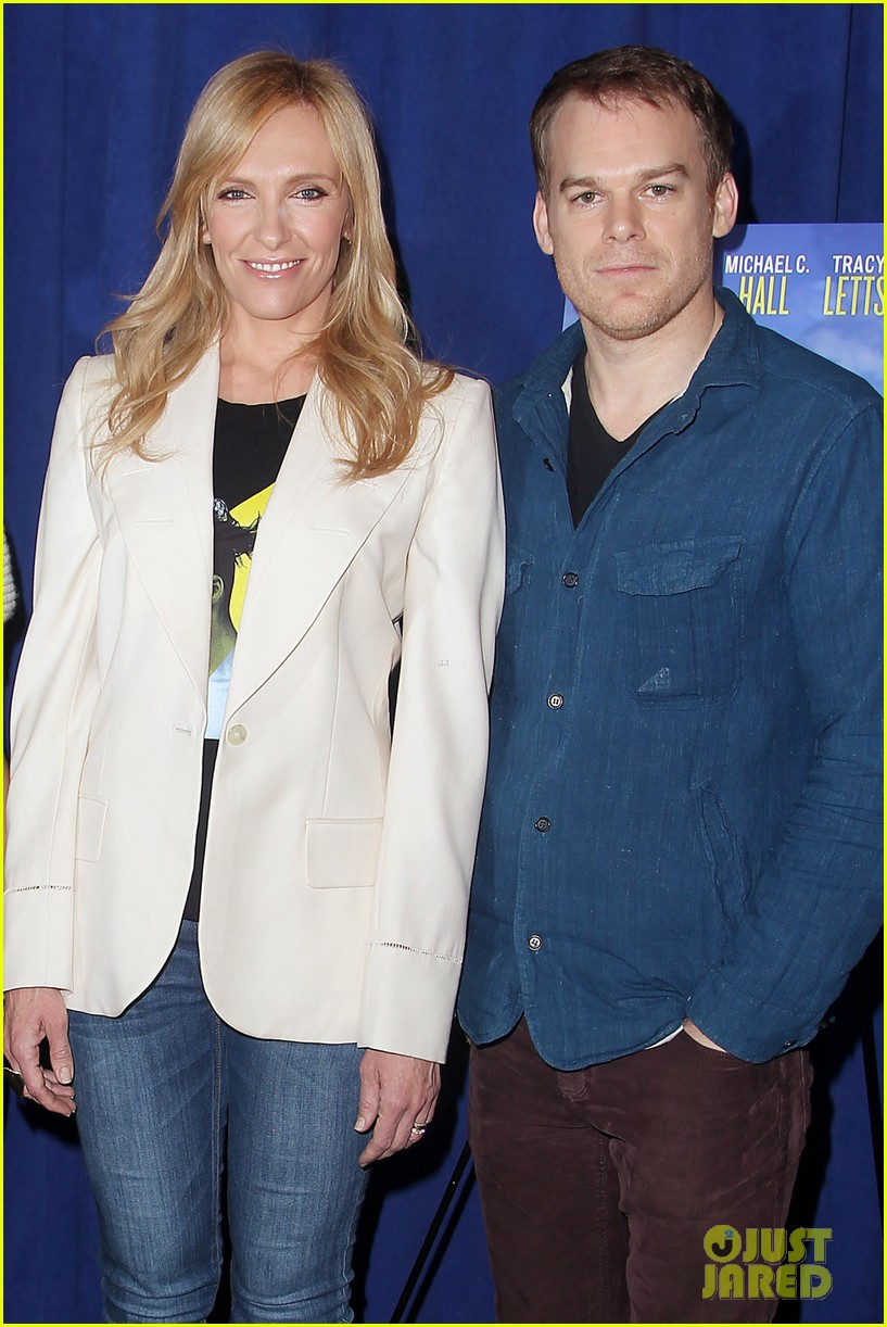 toni collette michael c hall realistic joneses photo call 17