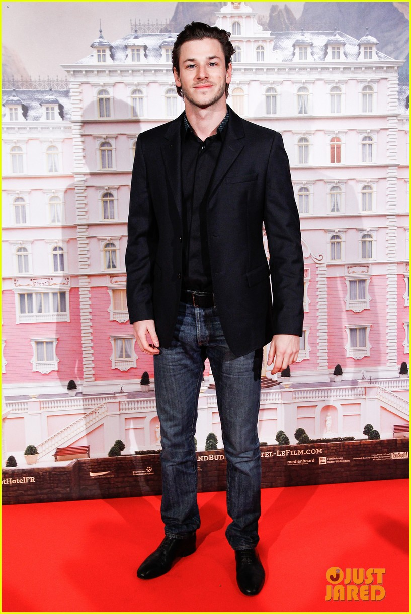 gaspard ulliel lends support at grand budapest hotel premiere 01