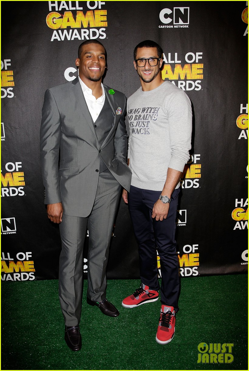 lindsey vonn colin kaepernick hall of game awards 2014 133054219