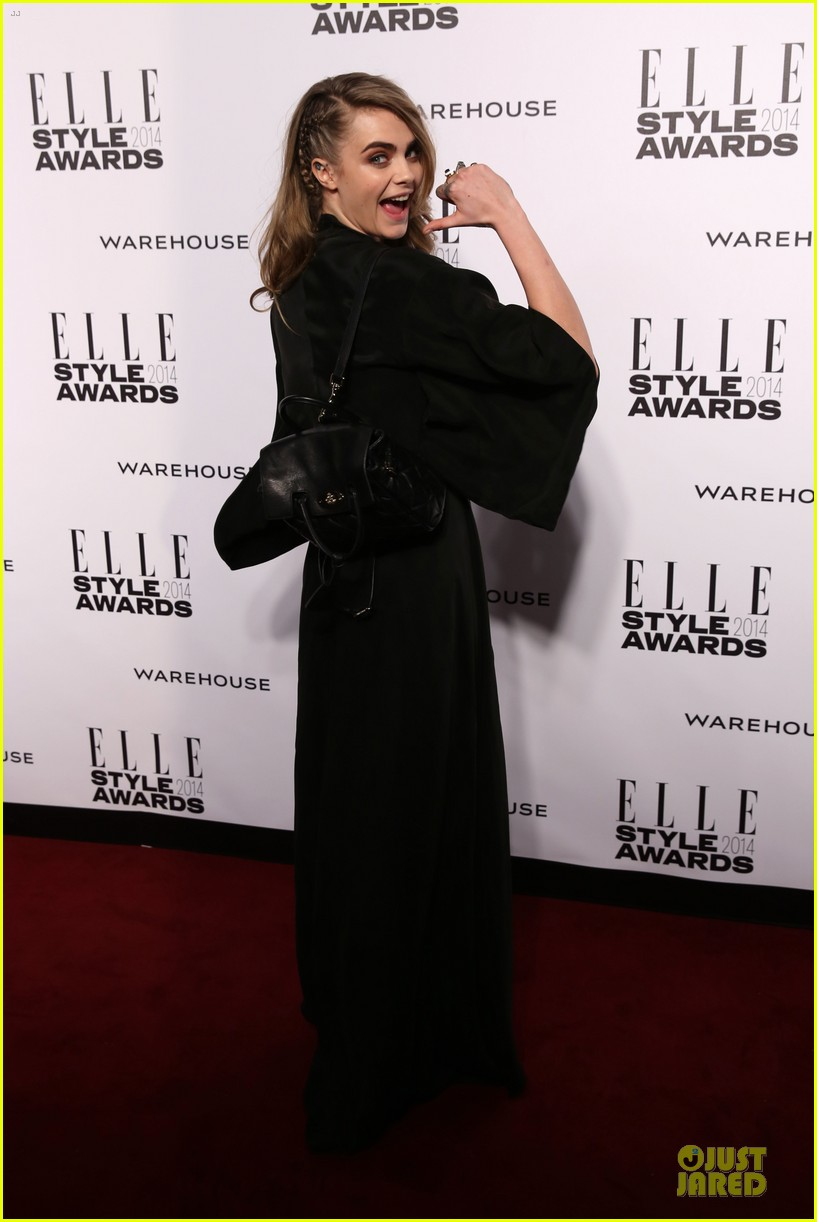 suki waterhouse cara delevingne stunning models at elle style awards 08
