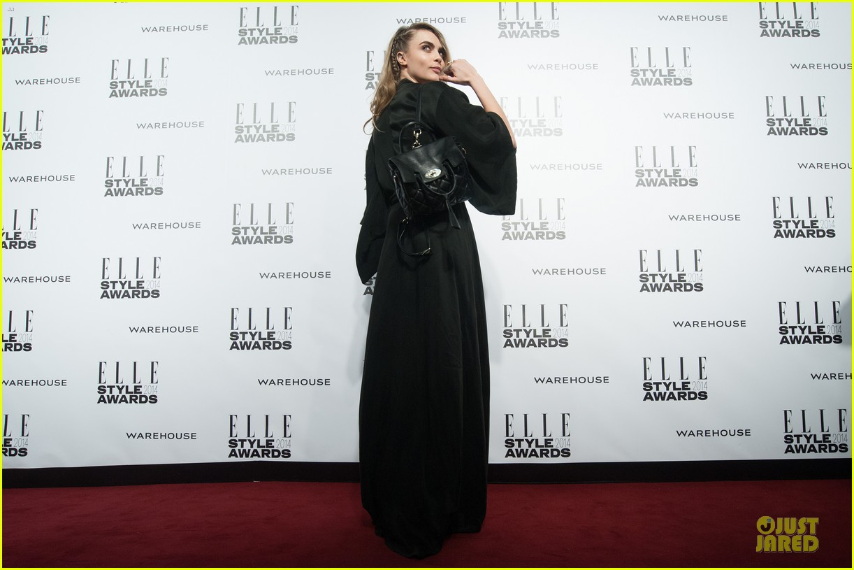suki waterhouse cara delevingne stunning models at elle style awards 233055833