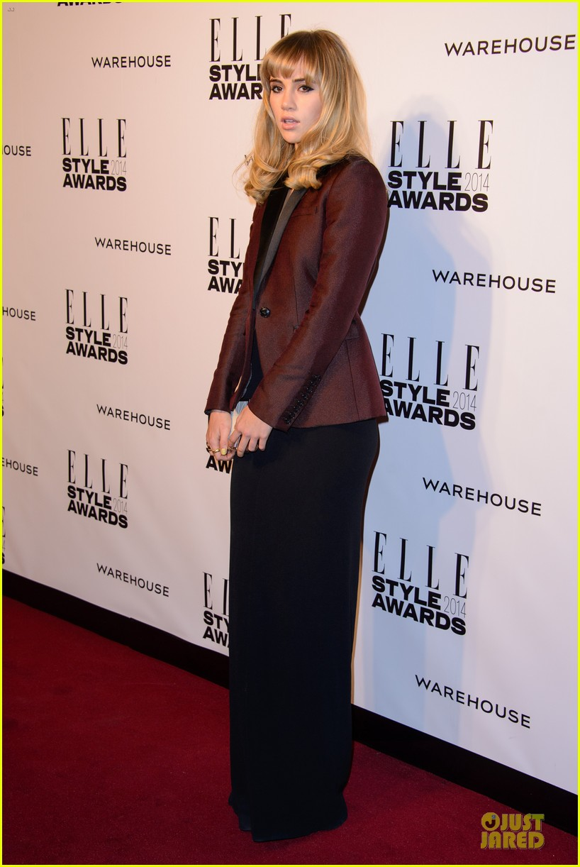suki waterhouse cara delevingne stunning models at elle style awards 253055835