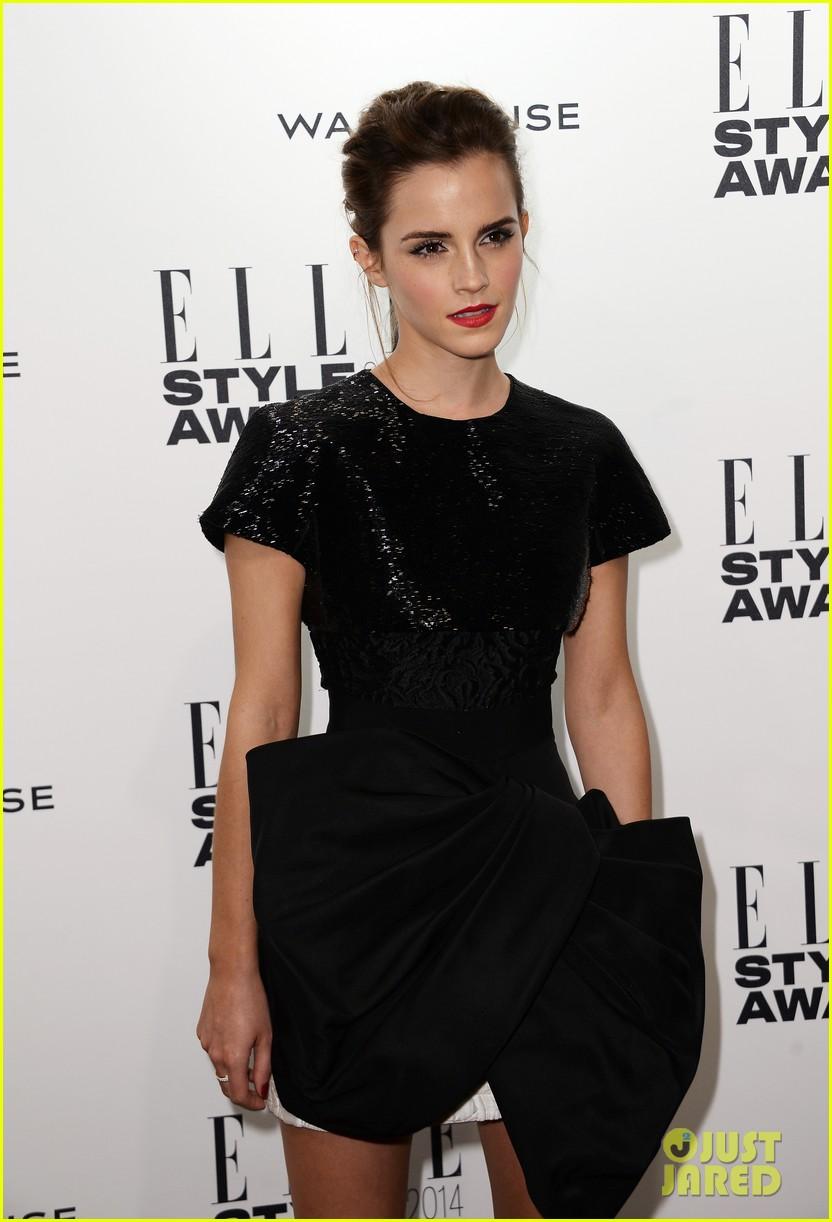 emma watson elle style awards 2014 01