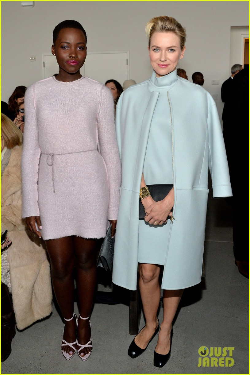 naomi watts lupita nyongo are classy gorgeous at calvin klein fashion show 01